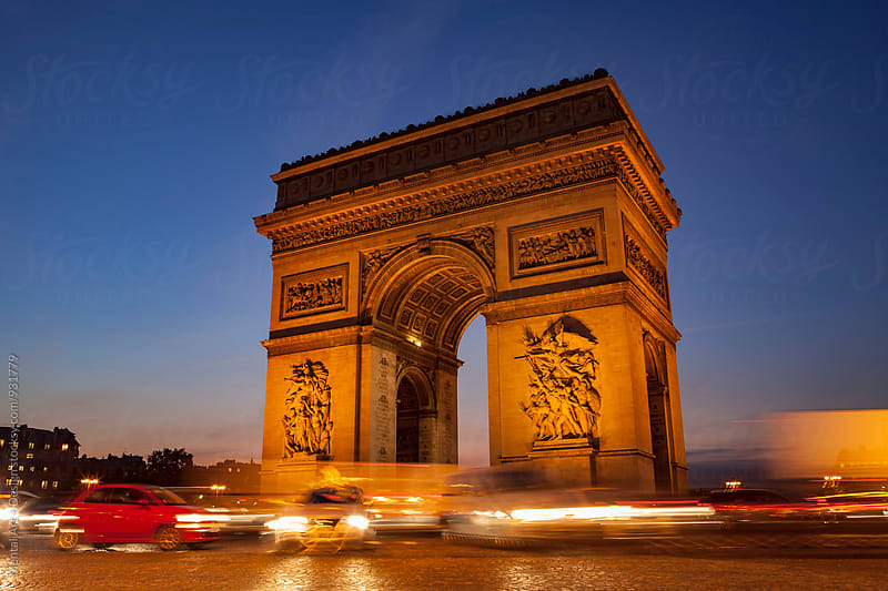 Paris, Arc de Triomphe by Mental Art + Design for Stocksy United