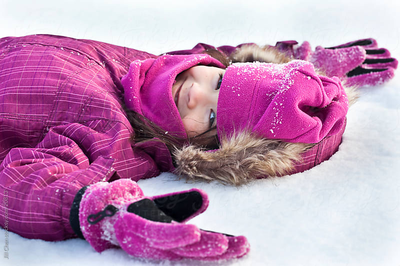 Snow Angel by Jill Chen for Stocksy United