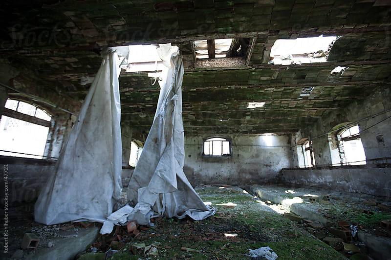 Old ruined abandoned room by Robert Kohlhuber for Stocksy United