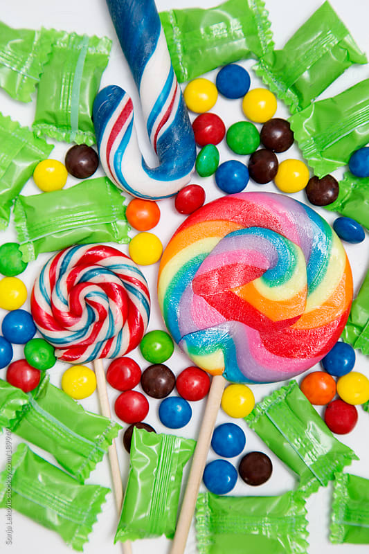 colorful candy by Sonja Lekovic for Stocksy United