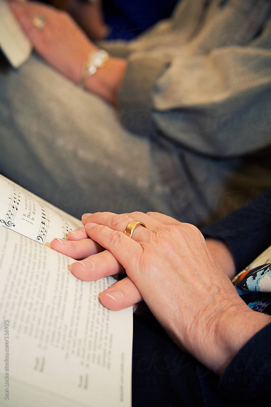 Church: Elderly Hands And Bible by Sean Locke for Stocksy United