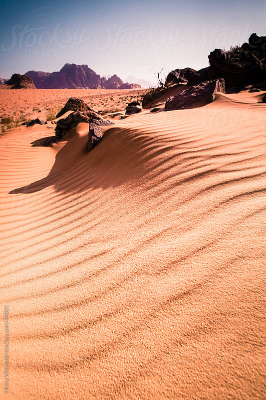 Wadi Rum Desert, Jordan by Micky Wiswedel for Stocksy United