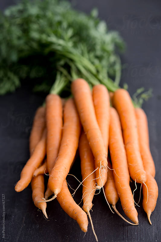 Food: Organic Carrots by Ina Peters for Stocksy United