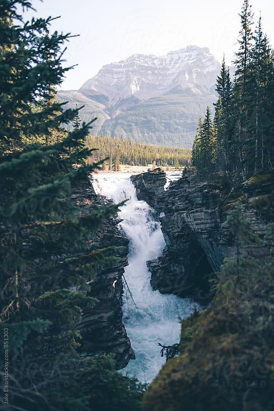 Athabasca Falls Jasper by Jake Elko for Stocksy United
