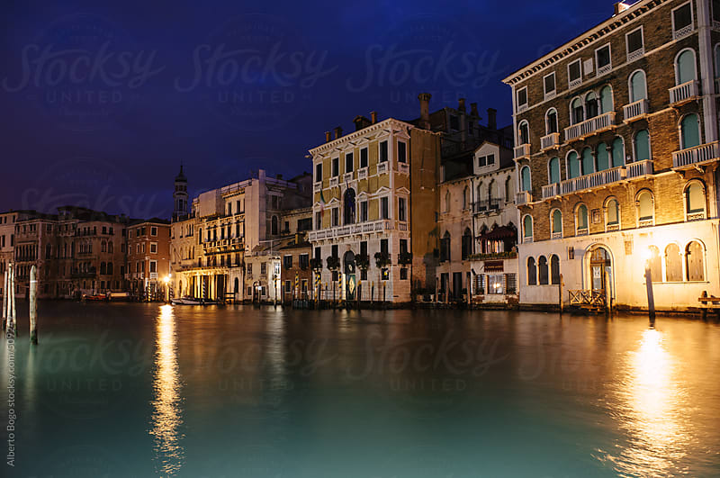 Canals in Venice, Italy by Alberto Bogo for Stocksy United