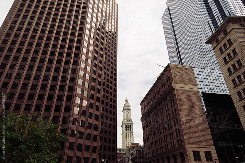 Downtown Boston by Good Vibrations Images for Stocksy United