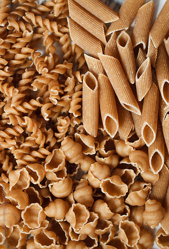 Assorted Whole Grain Pastas by Dobránska Renáta for Stocksy United