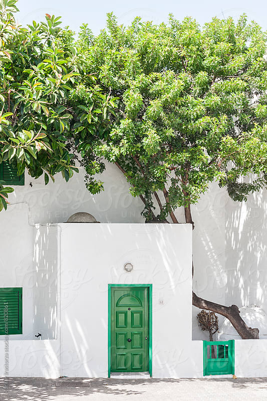 Traditional house in a village in the Canary Islands by Marilar Irastorza for Stocksy United