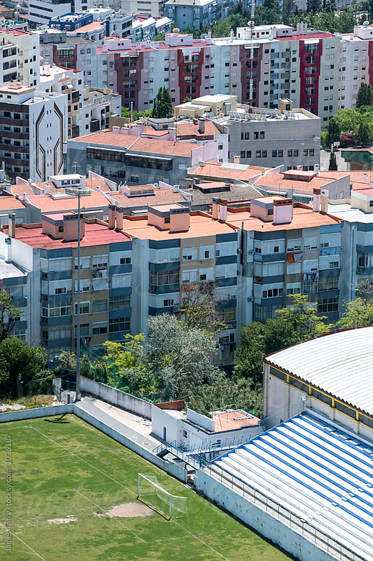 Lisbon housing views by James Tarry for Stocksy United