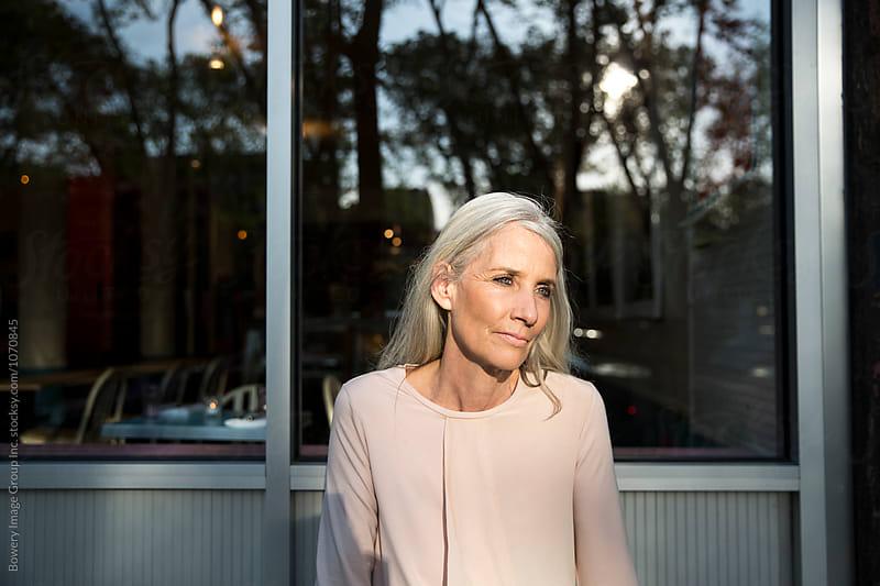 A portrait of an elderly woman by Ann-Sophie Fjelloe-Jensen for Stocksy United
