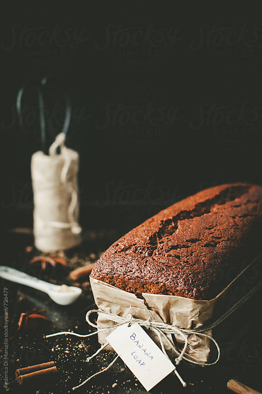 Banana loaf by Federica Di Marcello for Stocksy United