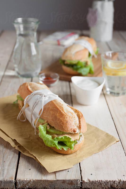 Fresh sandwiches by Nataša Mandić for Stocksy United
