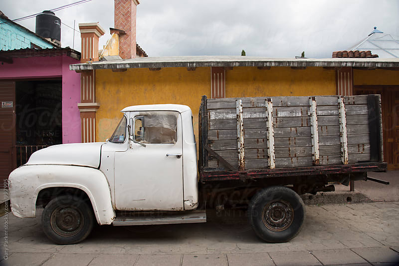 An old mexican work truck by Gary Parker for Stocksy United