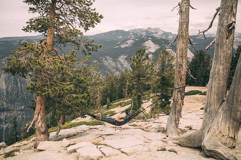hammock yosemite by Jake Elko for Stocksy United