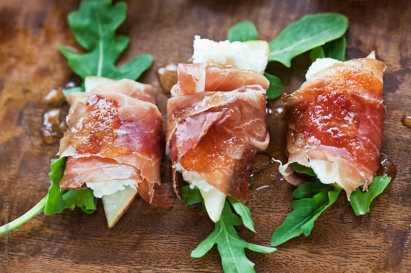 Proscuitto Appetizers by Jill Chen for Stocksy United