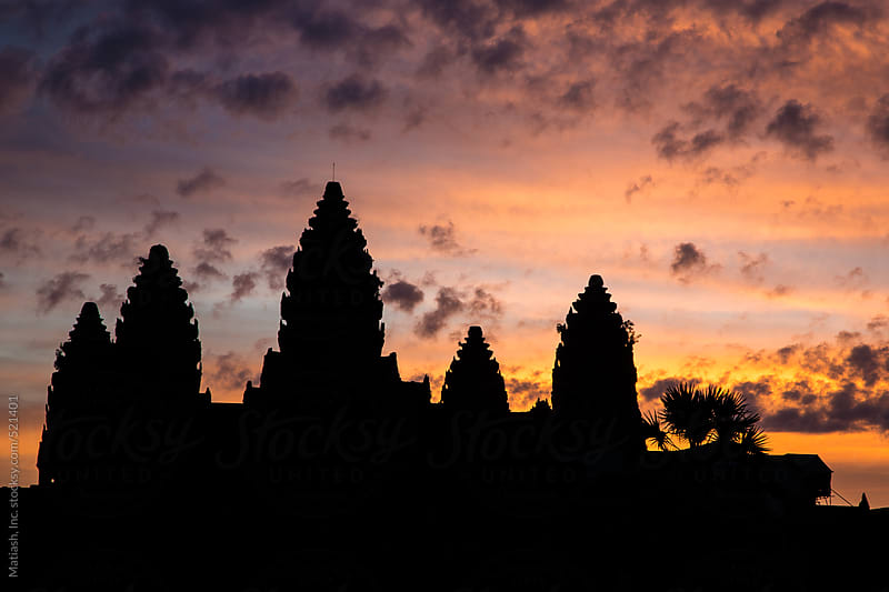 Sunrise over Angkor Wat by Matiash, Inc. for Stocksy United