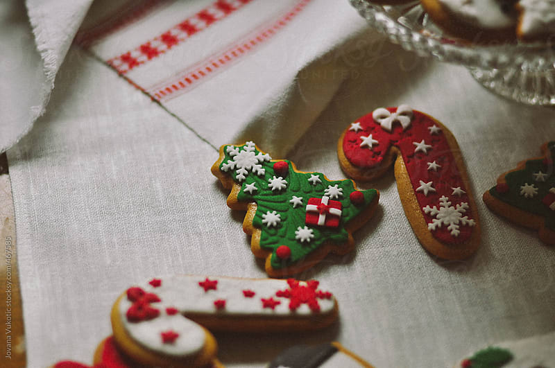 Christams cookies by Jovana Vukotic for Stocksy United