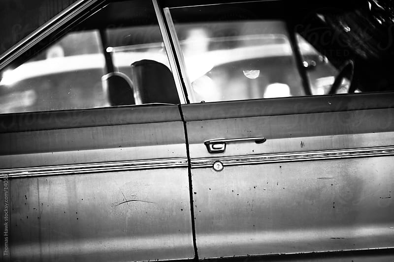 old car by Thomas Hawk for Stocksy United