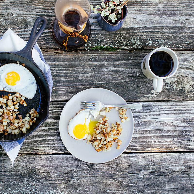 Summer Breakfast by Joe St.Pierre Photography for Stocksy United