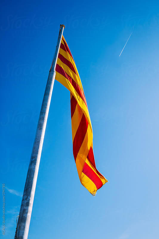 Catalan flag by ACALU Studio for Stocksy United