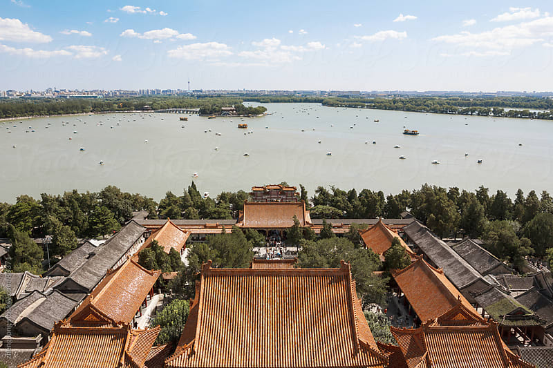 The Summer Palace ,Beijing by zheng long for Stocksy United
