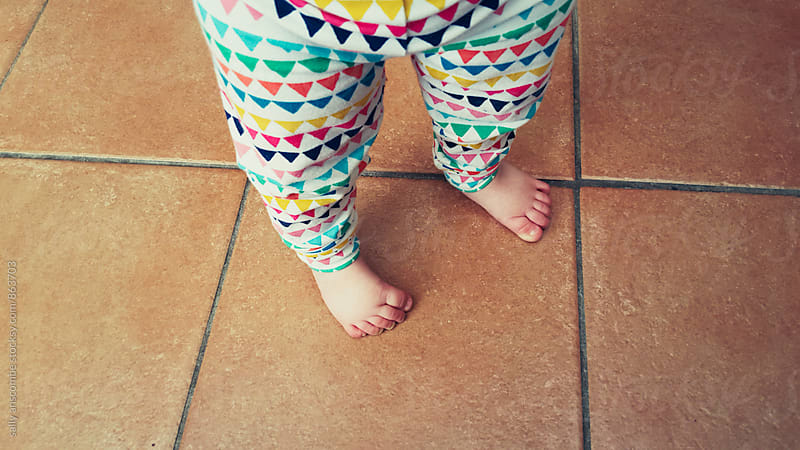 Toddlers toes by sally anscombe for Stocksy United