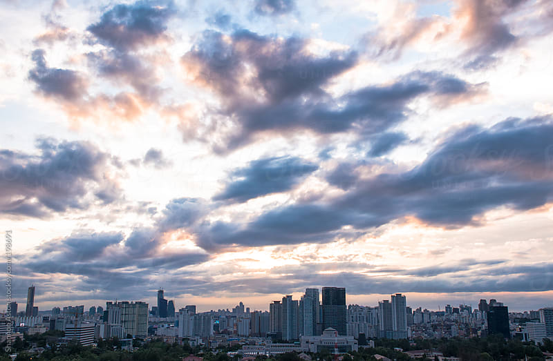Seoul Skyline by Shannon Aston for Stocksy United