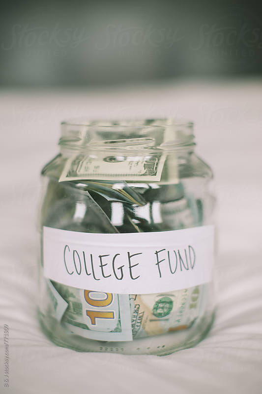 College fund by B & J for Stocksy United