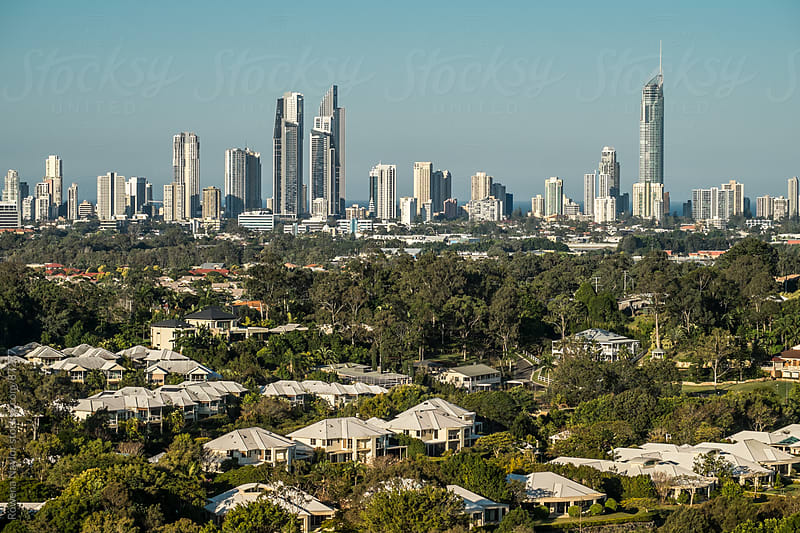 Famous Skyline of Surfers Paradise by Rowena Naylor for Stocksy United