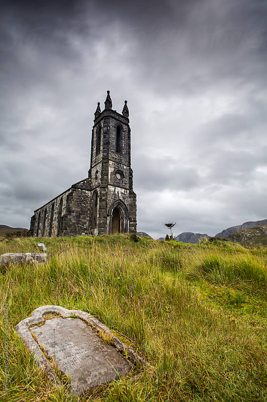 Dunlewy Old Church by Marilar Irastorza for Stocksy United