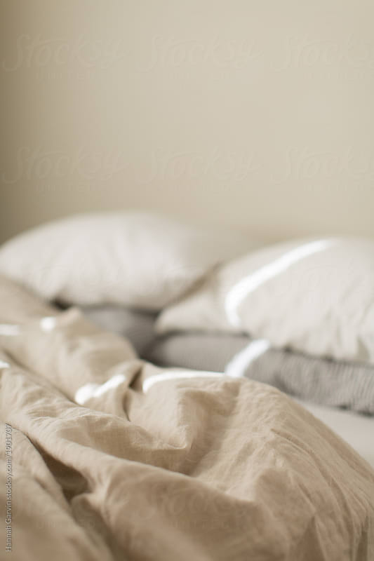 Linen Bed Sheets By Hannah Garvin For Stocksy United