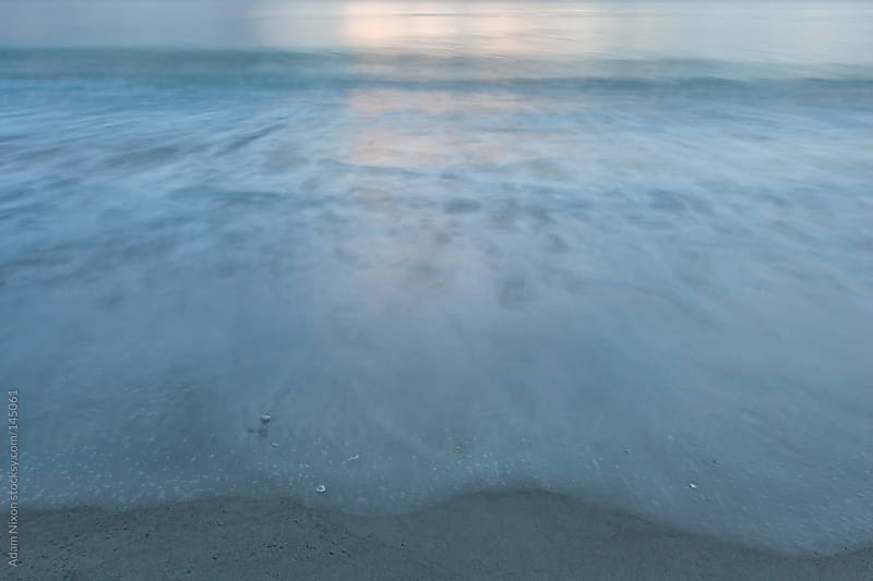 Waves on the Beach, Abstract by Adam Nixon for Stocksy United