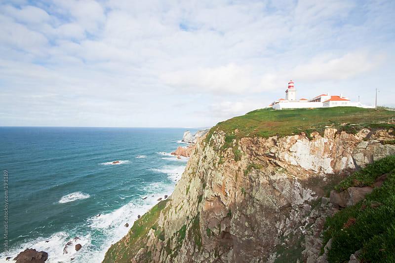 Cabo de Roca, Portugal by Nataša Mandić for Stocksy United