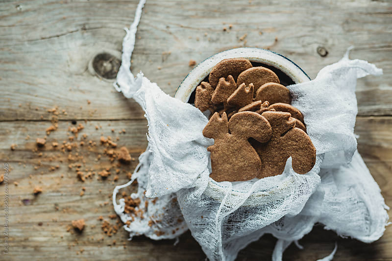 Gingerbread cookies by Tatjana Zlatkovic for Stocksy United