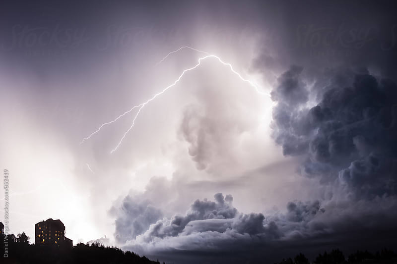 Thunder storm by Daniel Wirgård for Stocksy United