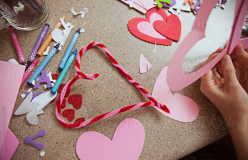 Valentine: Pipe Cleaner Heart by Sean Locke for Stocksy United
