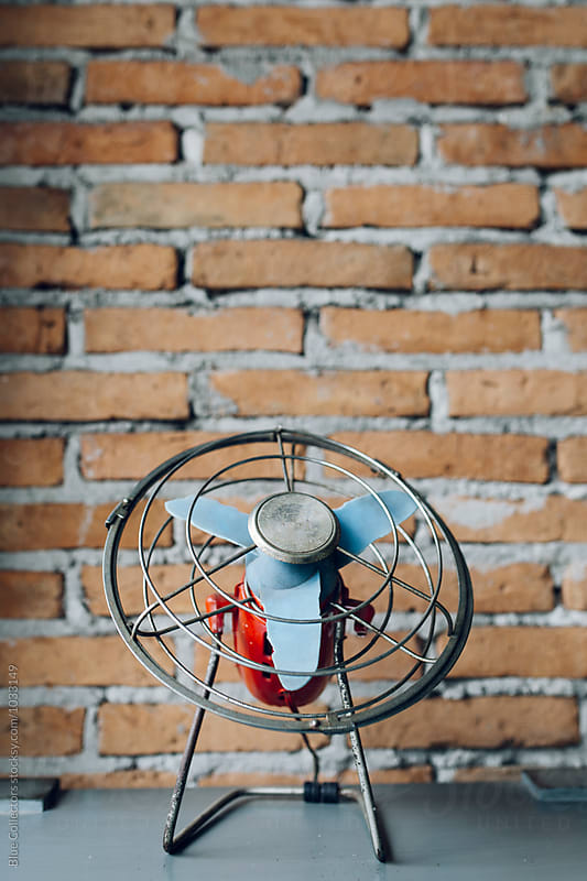 vintage fan by Blue Collectors for Stocksy United