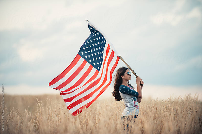American Flag by Melanie DeFazio for Stocksy United