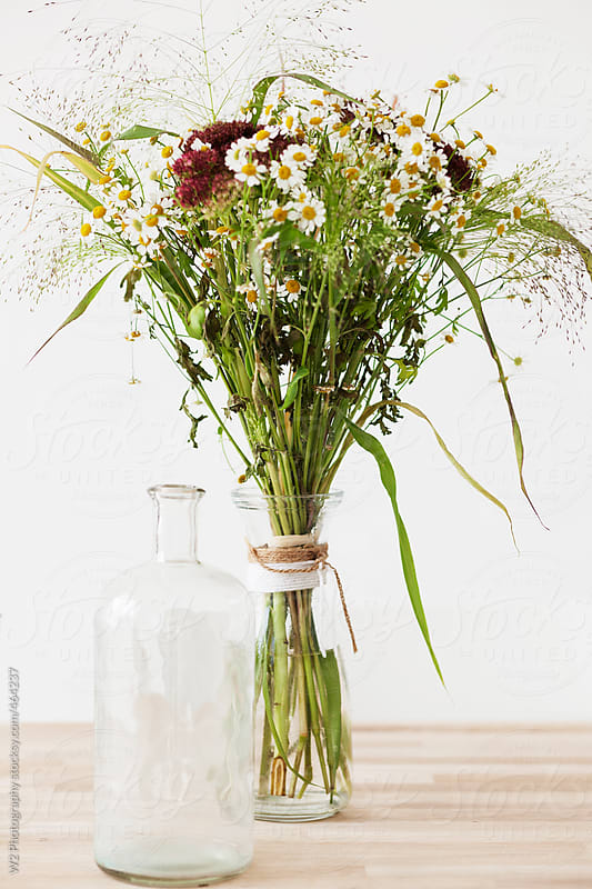 Closeup of rustic vintage vase by W2 Photography for Stocksy United