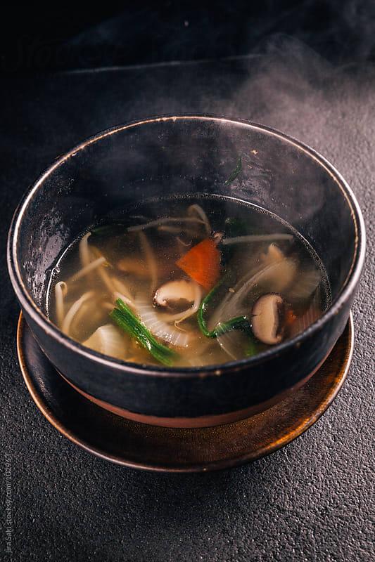 vegetable soup by jira Saki for Stocksy United