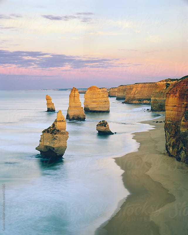 The Twelve Apostles, The Great Ocean Road, Victoria, Australia by Gavin Hellier for Stocksy United