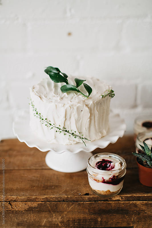 Wedding Cake by Sara K Byrne Photography for Stocksy United