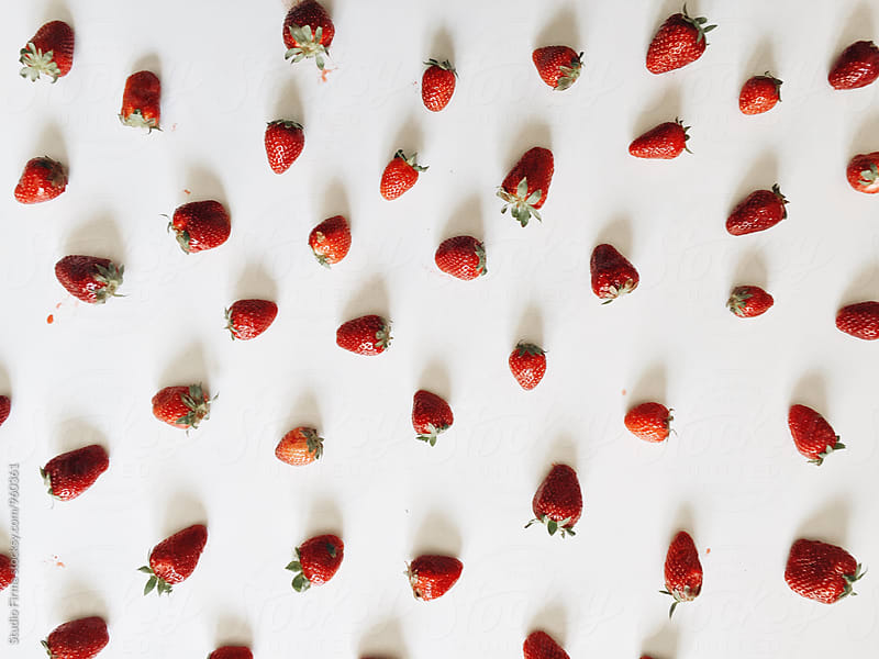 Strawberries  by Dijana Tolicki for Stocksy United