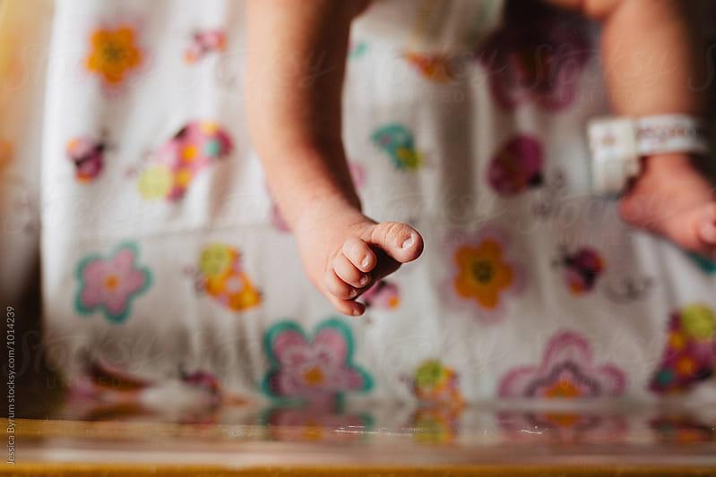 Newborn Foot by Jessica Byrum for Stocksy United