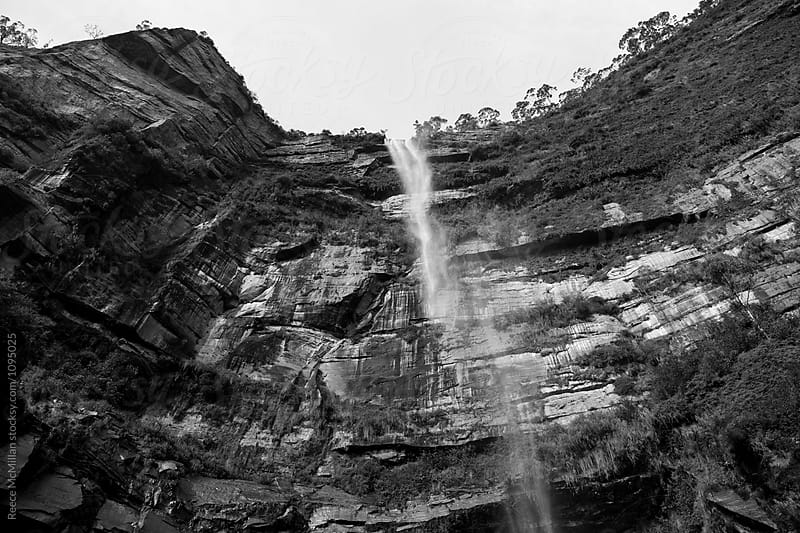 Bridal Veil Falls, Blue Mountains by Reece McMillan for Stocksy United