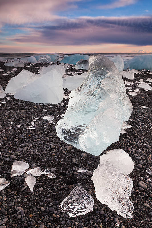 Chunks of Ice by Marilar Irastorza for Stocksy United