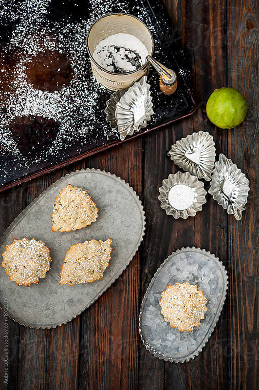 Mini Zucchini Tea Cakes by Aubrie LeGault for Stocksy United