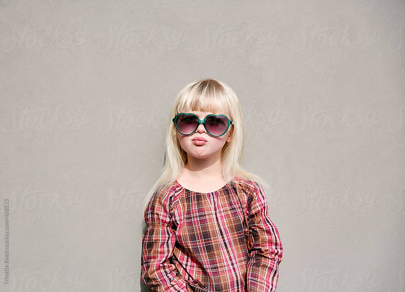 Portrait of adorable little girl.  by Trinette Reed for Stocksy United