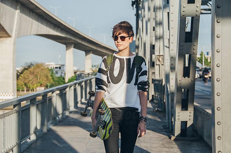 Urban Teenage Girl by Lumina for Stocksy United