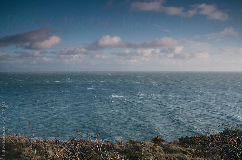 Sea off the Welsh Coast by Neil Warburton for Stocksy United